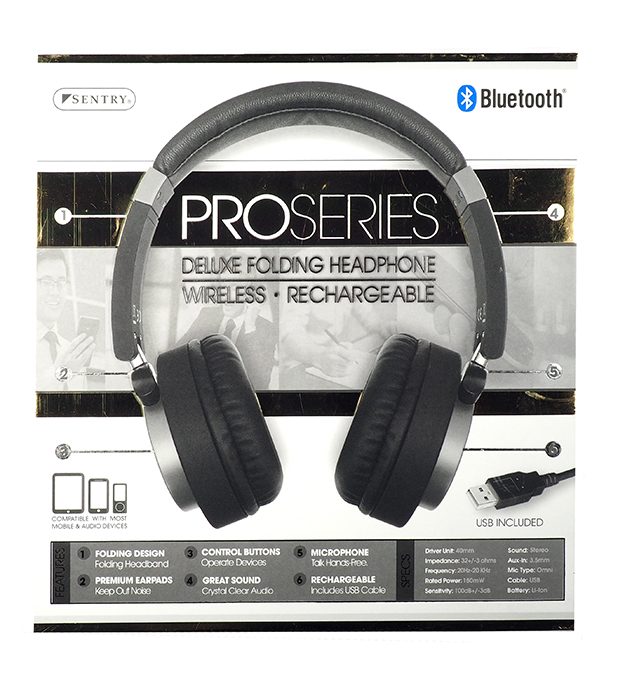 a189626986f Sentry Bluetooth Stereo Headphones With Mic Review - Image Of ...
